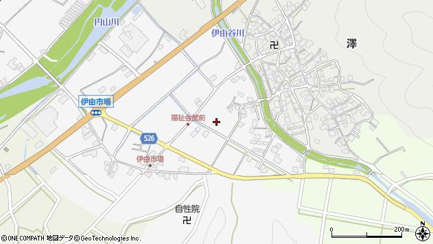 〒679-3421 兵庫県朝来市伊由市場の地図
