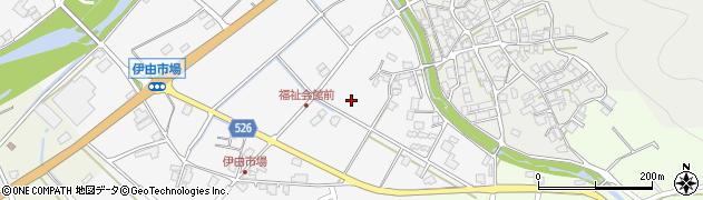 兵庫県朝来市伊由市場周辺の地図
