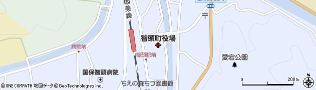 鳥取県智頭町(八頭郡)周辺の地図