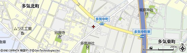 つる周辺の地図