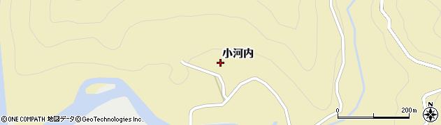 静岡県静岡市葵区小河内周辺の地図
