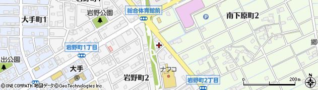 舞 本店周辺の地図