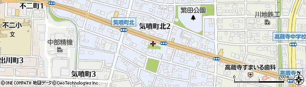 さくら配食サービス 春日井東事業所周辺の地図
