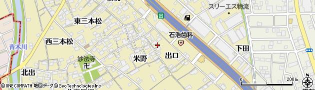 愛知県一宮市丹陽町九日市場(出口)周辺の地図