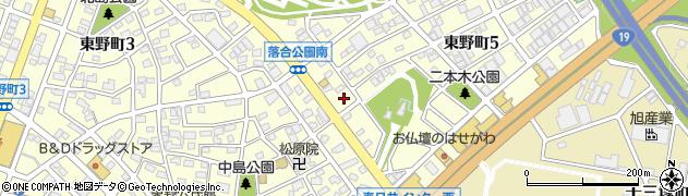 あきやま周辺の地図