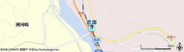 鳥取県日野郡江府町周辺の地図