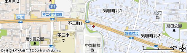 ティアラ周辺の地図