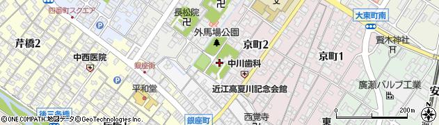 千代神社周辺の地図