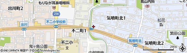 ごまめ家高蔵寺店周辺の地図
