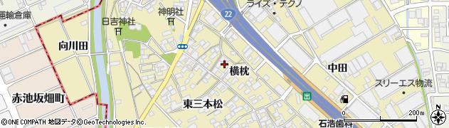愛知県一宮市丹陽町九日市場(横枕)周辺の地図