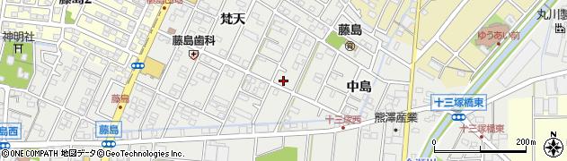 千周辺の地図