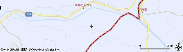 愛知県豊田市東郷町(五六下)周辺の地図