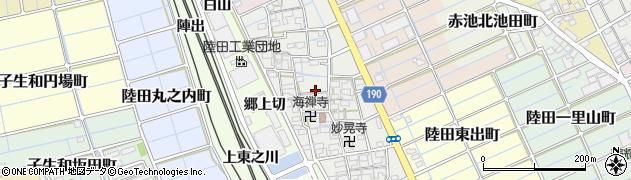 愛知県稲沢市陸田本町周辺の地図