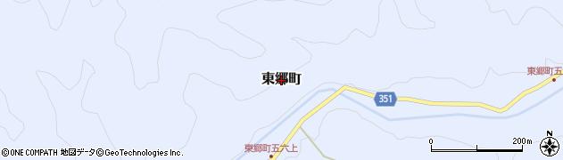 愛知県豊田市東郷町周辺の地図
