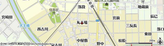 愛知県一宮市萩原町築込(丸古場)周辺の地図