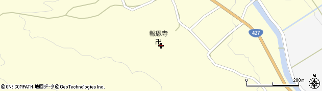 報恩寺周辺の地図