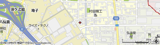 株式会社壱番屋周辺の地図