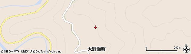 愛知県豊田市大野瀬町(ウエノヒラ)周辺の地図