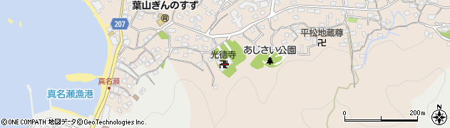 光徳寺周辺の地図