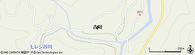 鳥取県若桜町(八頭郡)吉川周辺の地図