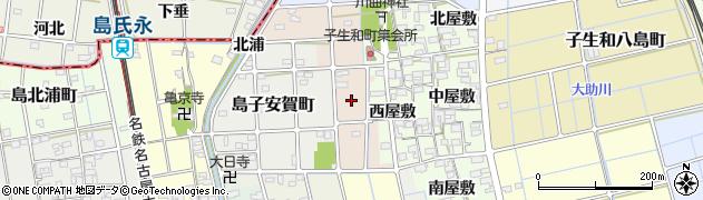 愛知県稲沢市子生和住吉町周辺の地図