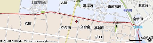グローイングアップ周辺の地図