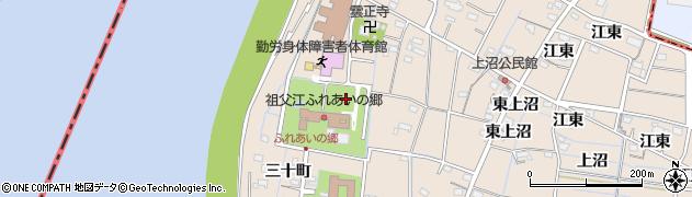 愛知県稲沢市祖父江町祖父江(柿ノ木)周辺の地図
