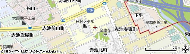 愛知県稲沢市赤池天王町周辺の地図
