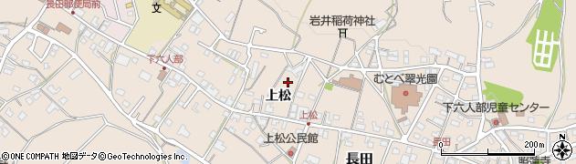 京都府福知山市上松周辺の地図