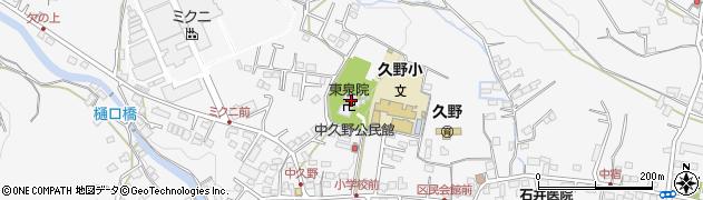 東泉院周辺の地図