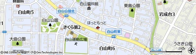 ほっともっと 春日井白山町店周辺の地図