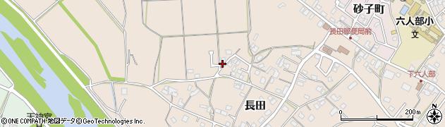 京都府福知山市長田段周辺の地図