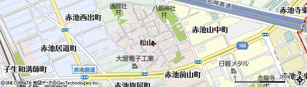 愛知県稲沢市赤池町周辺の地図
