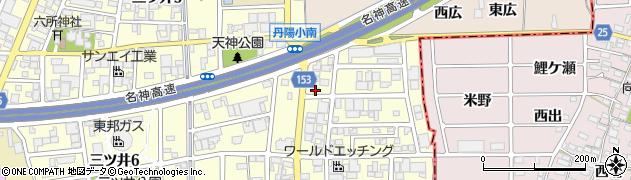 グリーンタウン周辺の地図