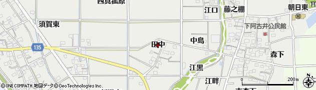 愛知県一宮市明地(田中)周辺の地図