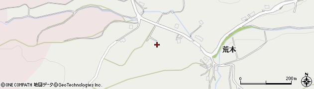 京都府福知山市荒木周辺の地図