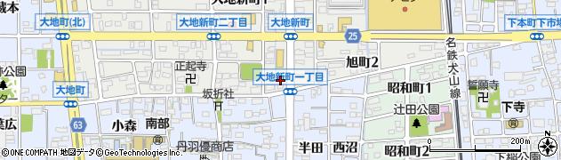 旬彩料理石神周辺の地図
