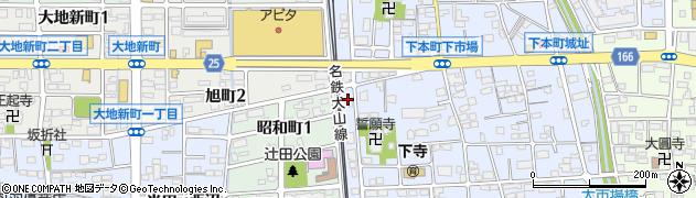 ぼたん周辺の地図
