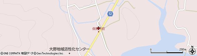 京都府南丹市美山町三埜(東)周辺の地図