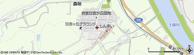 京都府福知山市日吉ケ丘周辺の地図