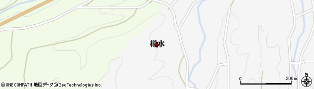 京都府福知山市樽水周辺の地図