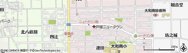 愛知県一宮市大和町戸塚(宮崎西)周辺の地図