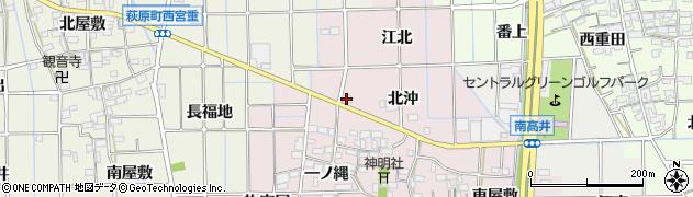 茶音周辺の地図