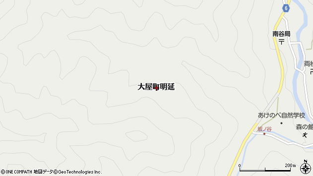 〒667-0436 兵庫県養父市大屋町明延の地図