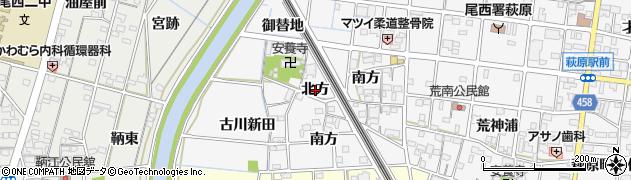 愛知県一宮市萩原町串作(北方)周辺の地図