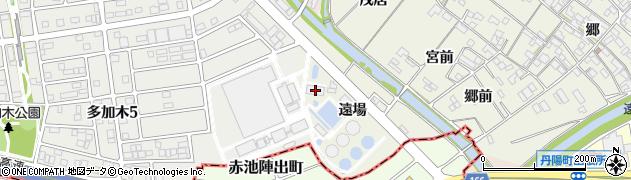 愛知県一宮市丹陽町外崎(遠場)周辺の地図
