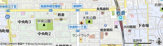 株式会社魚初周辺の地図