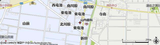 愛知県一宮市上祖父江(北新田)周辺の地図