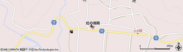 京都府南丹市美山町大野(道ノ間)周辺の地図