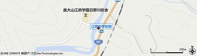 夜振橋周辺の地図